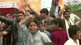 Hindu Refugees From Pak's Sindh Province Celebrate