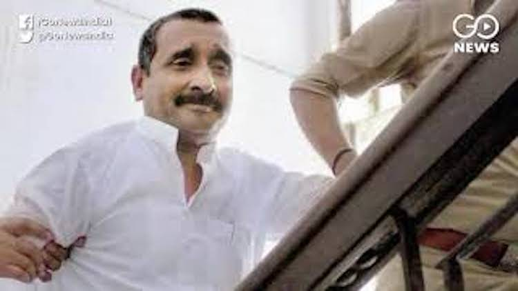 No Murder Charge On Kuldeep Sengar In Unnao Accide
