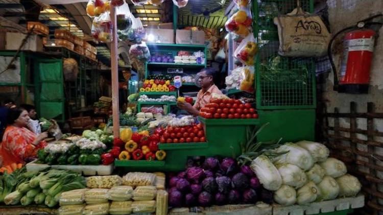 Wholesale food inflation rose 11.08 percent in Nov