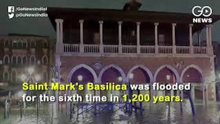 Venice Submerged By Highest Tide In 50 Years