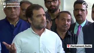 Rahul Gandhi: Scindia Chose Political Future Over
