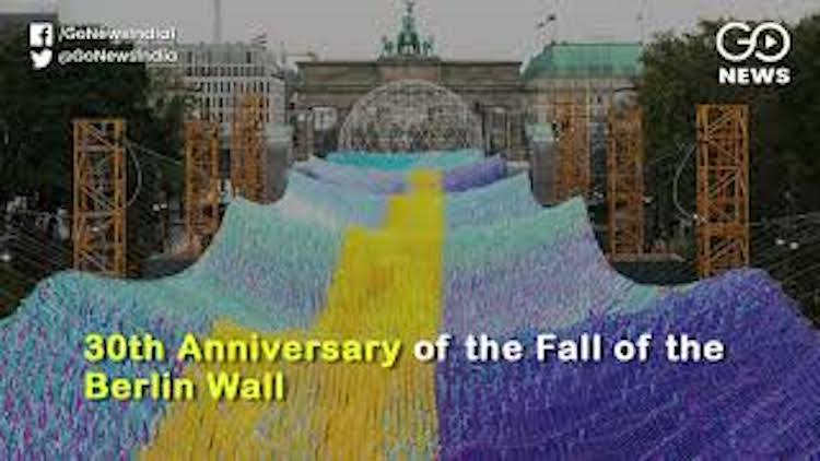 30 Years Since Fall Of The Berlin Wall