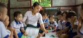 'COVID-19 is making a global childcare crisis even