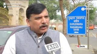 Sanjay Singh Hits Back Over Tahir Hussain Issue