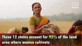 Rise In Women's Ownership Rights Over Agricultura