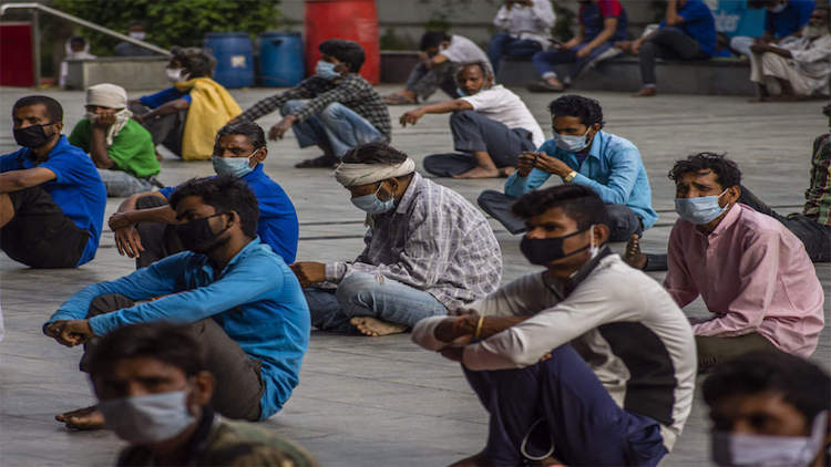 Lockdown Pushed Migrant Workers To The Brink Of St