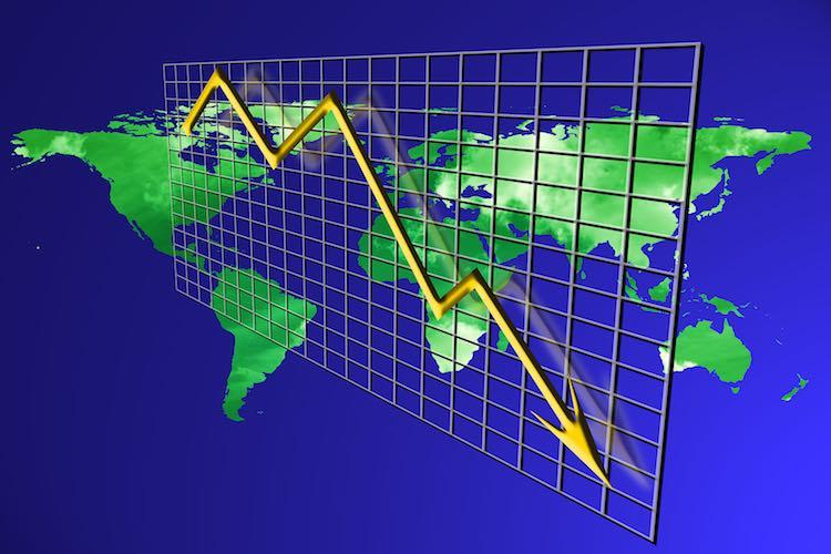 The world's economic flywheel is caused by coronav