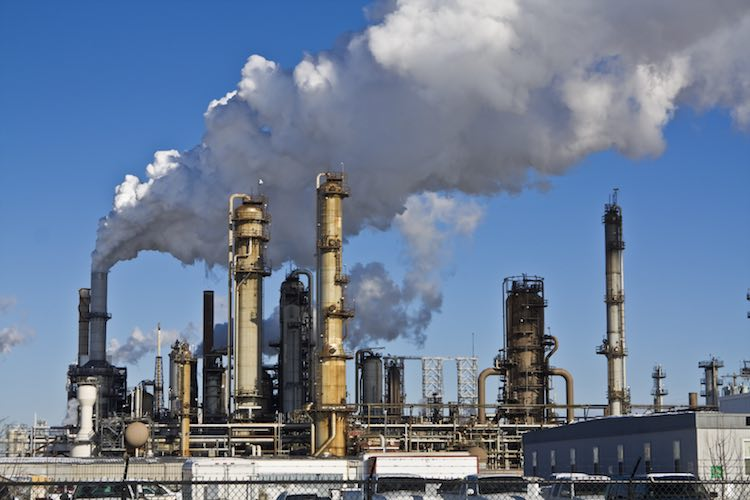 In two months, the price of crude oil halved but p