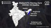 COVID-19: Ten Least-Affected States And Union Terr
