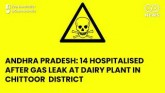Andhra Pradesh: 14 Hospitalised After Gas Leak At