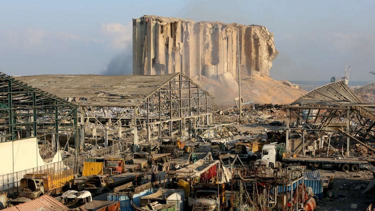 Chennai Port Storing 740 Tonnes Of Ammonium Nitrat