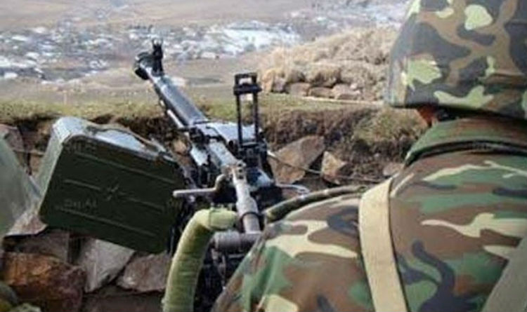 A soldier martyred in cross-border firing, huge in