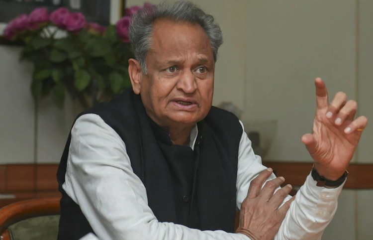 CM Ashok Gehlot Lashes Out At Sachin Pilot Over Ra