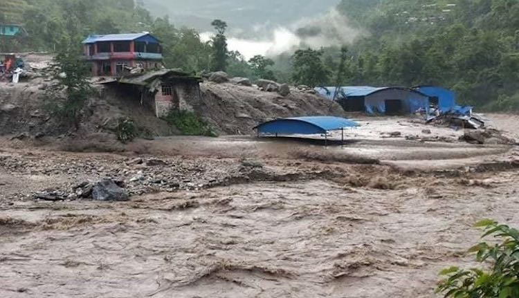 Nepal: Two Dead, 20 Missing As Floods Wash Away 36