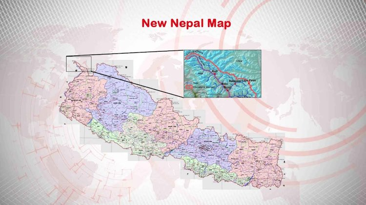 New Nepal Map Which Includes 'Indian Areas' Passed
