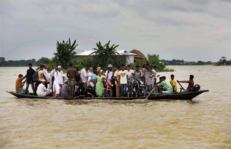 Risks of floods in Bihar and Assam, rivers in spat