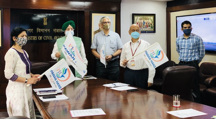 Uttarakhand: Pawan Hans Launches Helicopter Flight